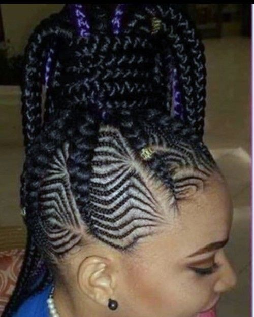 FIshbone High Ponytail