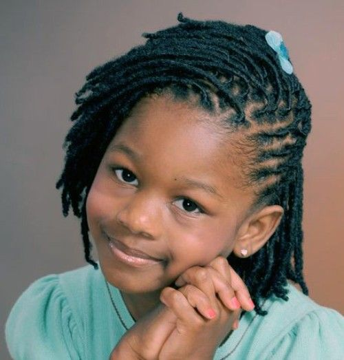 Faux Locks for Black baby Girls