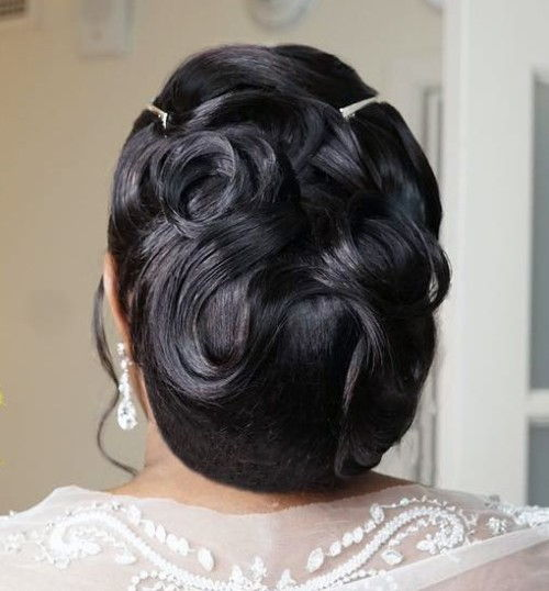 Wedding hairstyles for The Black Women