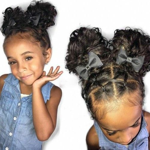 More Baby Girl hairstyle Ideas for Black Kids