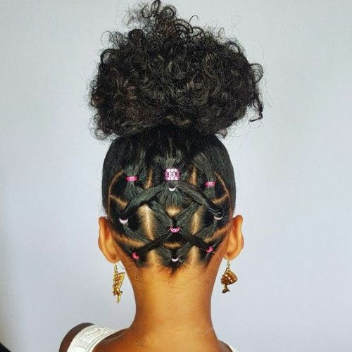 Bun hairstyles for Baby Girls