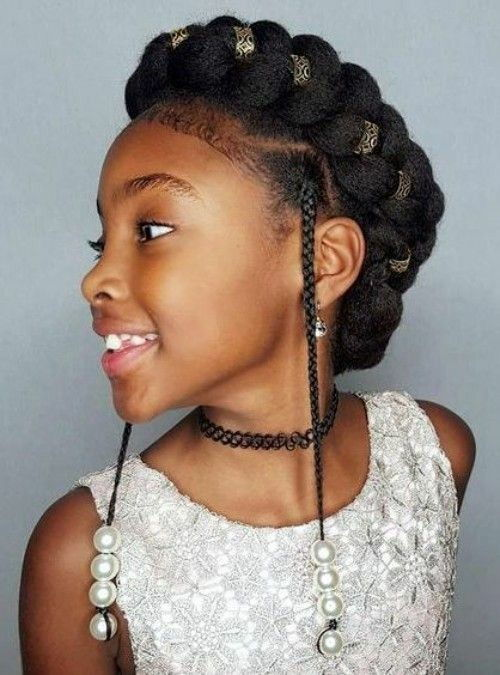 Headband Braids with Beads