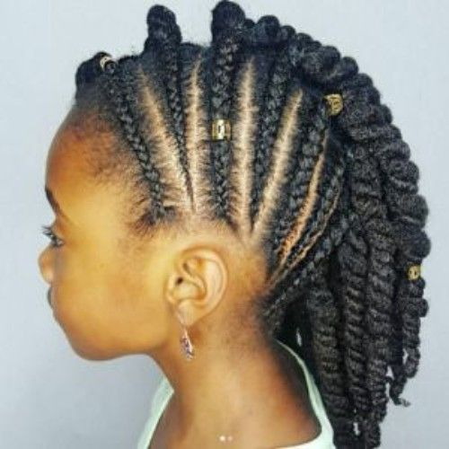 Mohawk hairstyles for Baby Girls