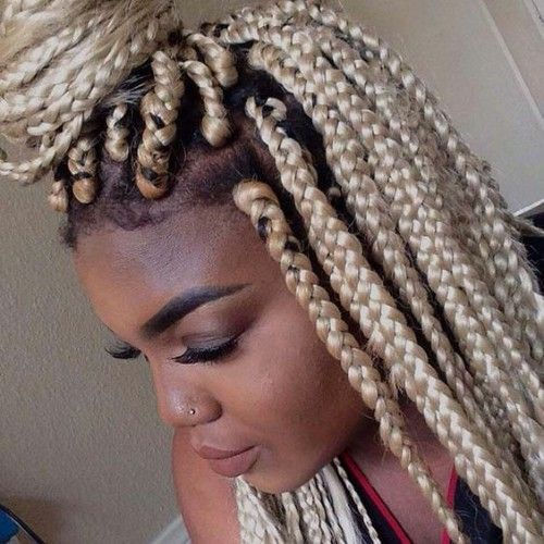 Blonde Poetic Justice Braid