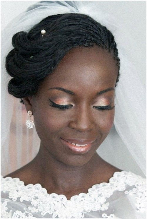 Braided hairstyles for Black Wedding
