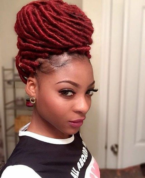 Yarn Locks Updo