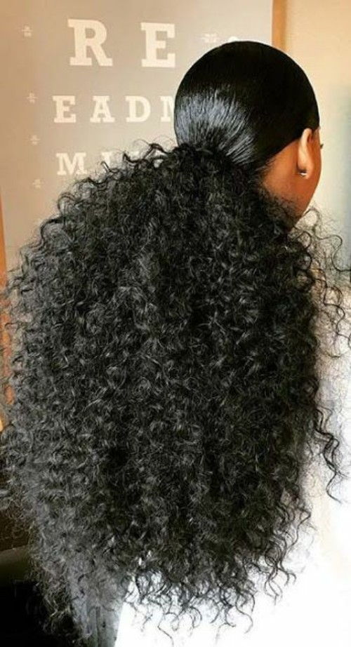 Curly Hairstyles for Black Wedding