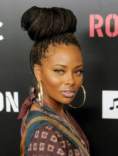 Poetic Justice Braid Updo