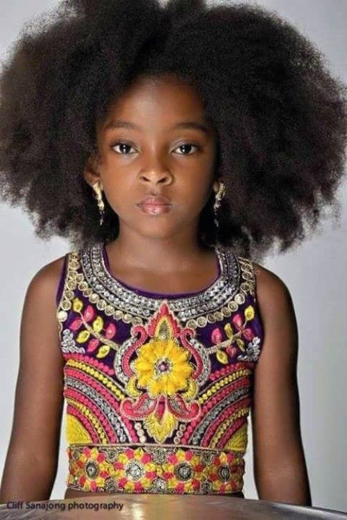 Afro hirstyles for baby girls