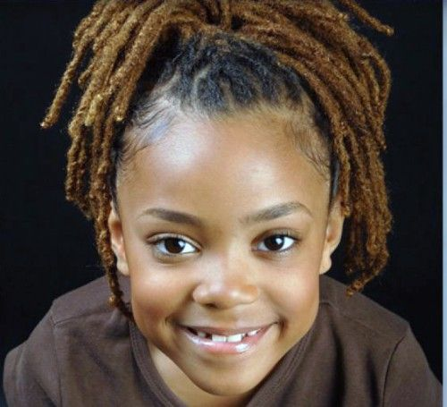 Dreadlocks Hairstyles for Black baby Girls