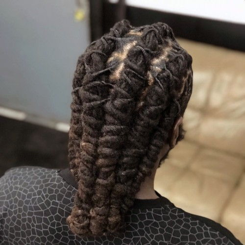 Dreads Hairstyle for Black Men