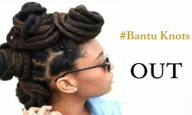 Glamorous Bantu Knot Out Hairstyles for the Black Women