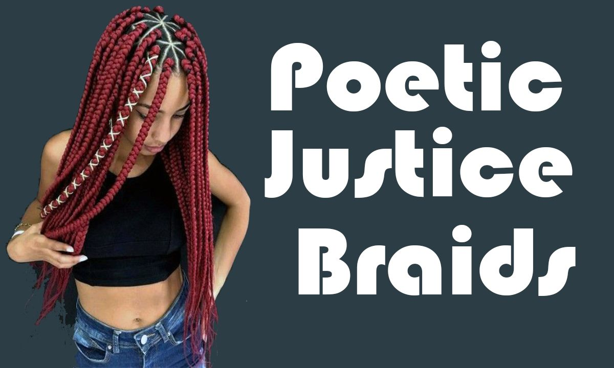 Poetic Justice Braids Hairstyles for Black Women