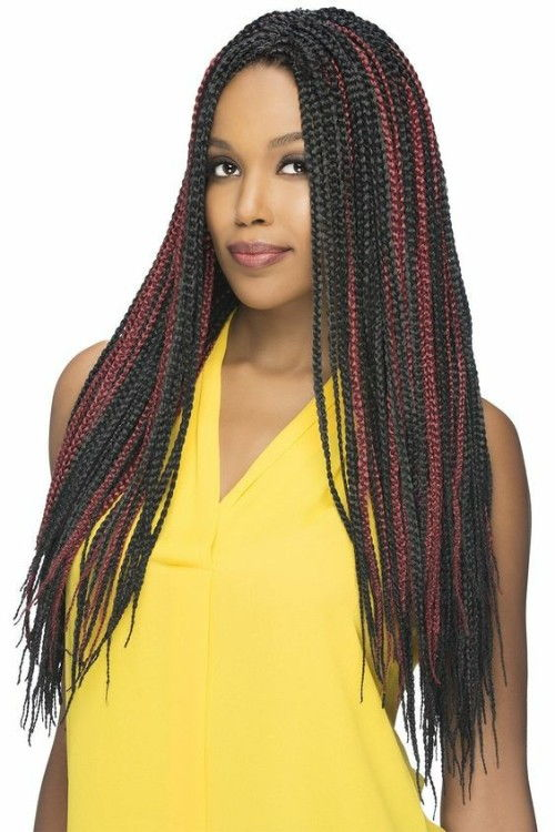 Box Braids for Birthday Girls