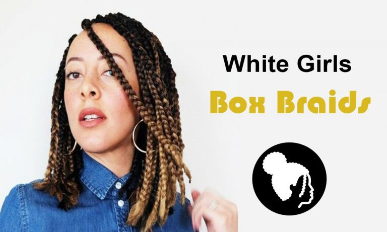 Remarkable Box Braids Examples for White Girls
