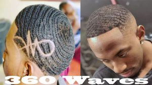 Blustering 360 Waves for African American Men