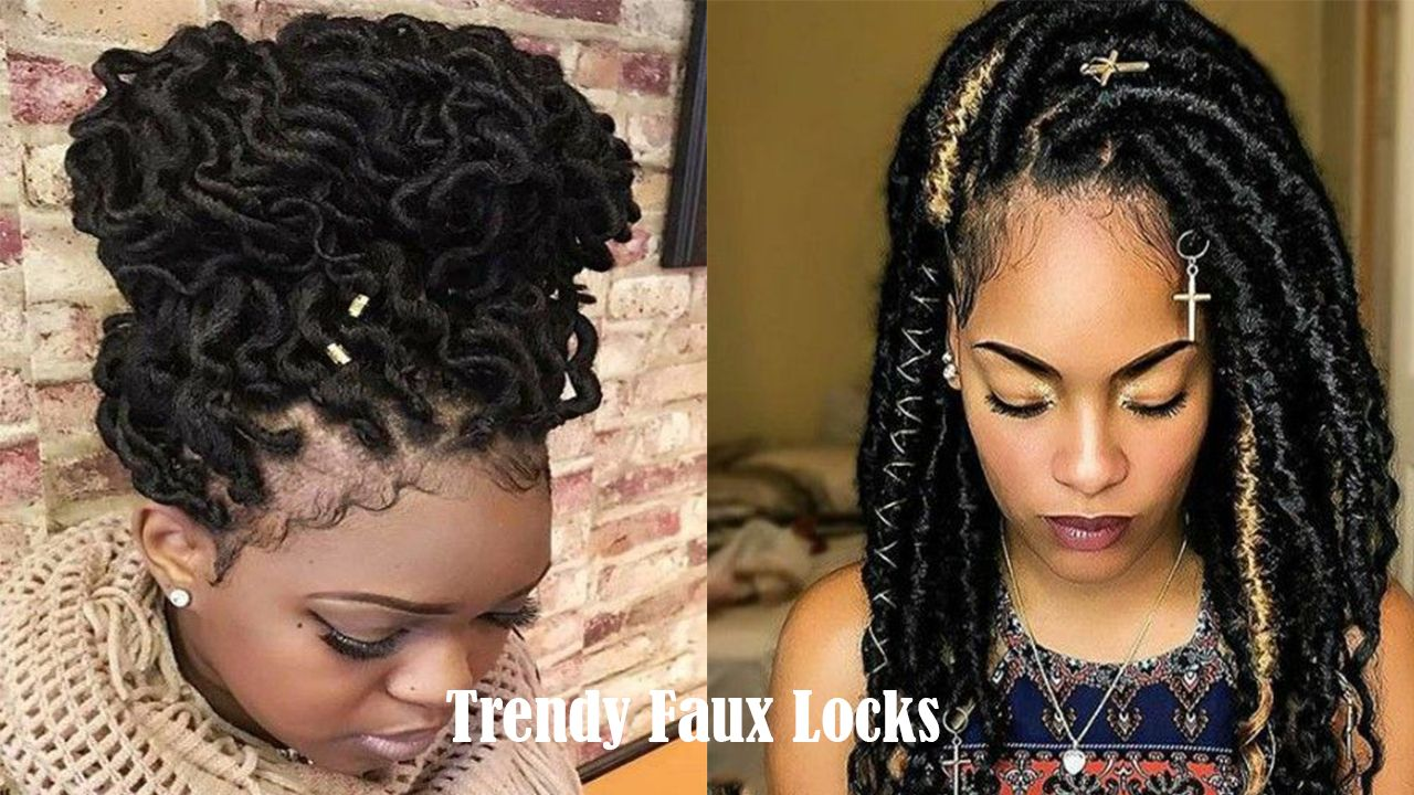 Faux Locks Styles are Trendy Right Now