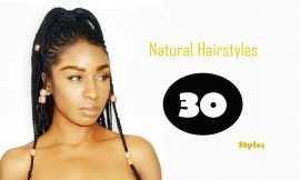30 Mesmerizing Natural Hairstyles for Black Women