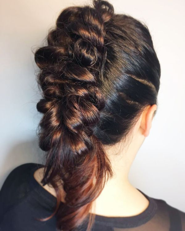 Pictures Untapped Goldmine Of Mohawk Braids Hairstyles