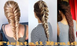 Fishtail Braid | 39 Diversified Hairstyles with Fishtail hair