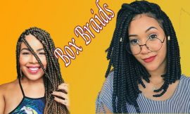 Picture Your BOX BRAIDS On Top. Read & Make It So