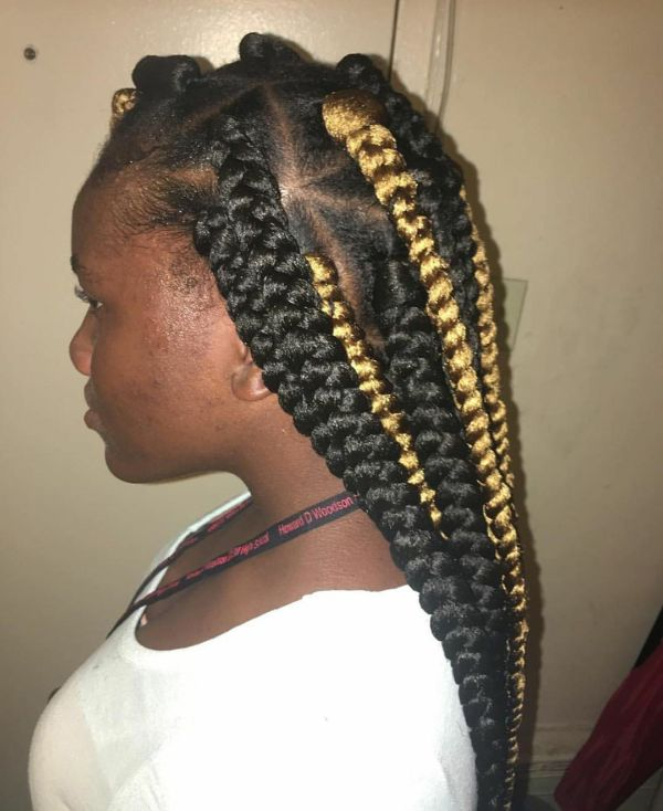 Highlighted Braids