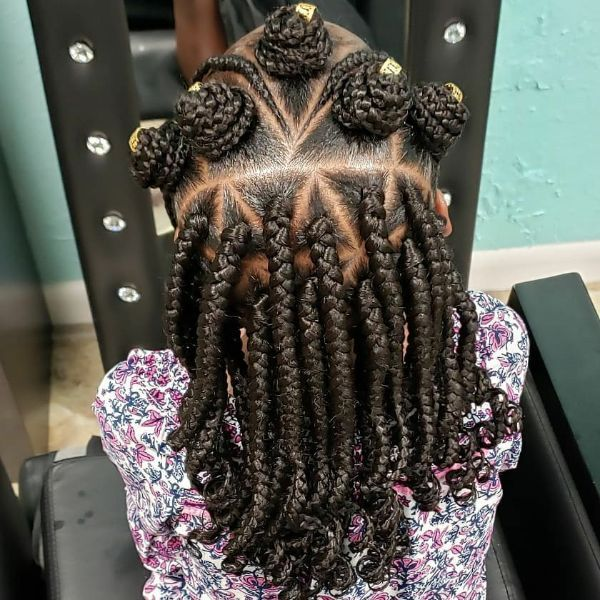 Braids with Bantu Knots