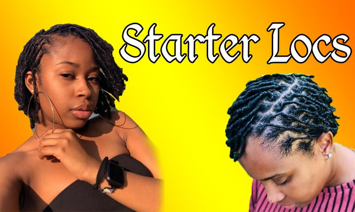 Starter Locs Hairstyles for Black Women