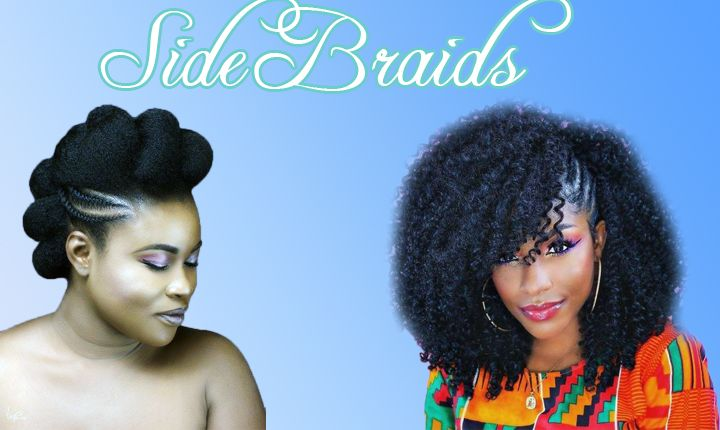 Side Braids Hairstyles for Black Women